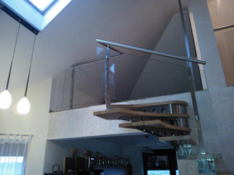 usługi szklarskie katowice, schody