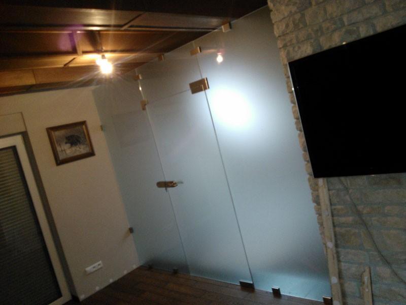 usługi szklarskie katowice, ścianka działowa