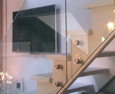 szyby katowice, schody