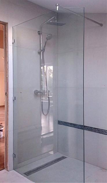 szyby katowice, prysznic